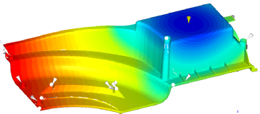 Flow Analysis of a Truck's Wheel Housing